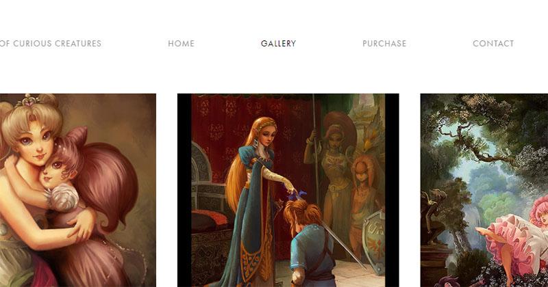 Obras de Edmund Leighton reintrepretadas con la saga Zelda