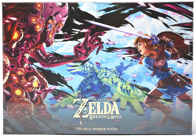 Nuevo rompecabezas de Zelda Breath of the Wild en NintendoNY Store