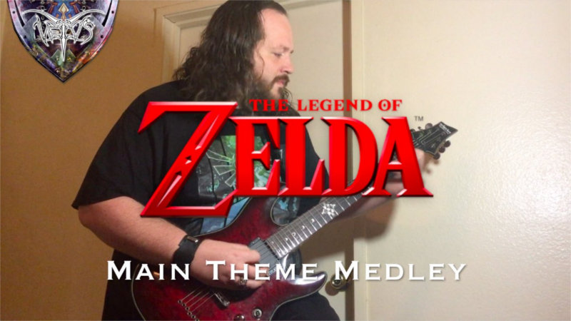 Cover de Epic Metal del tema principal de The Legend of Zelda por Vetivs
