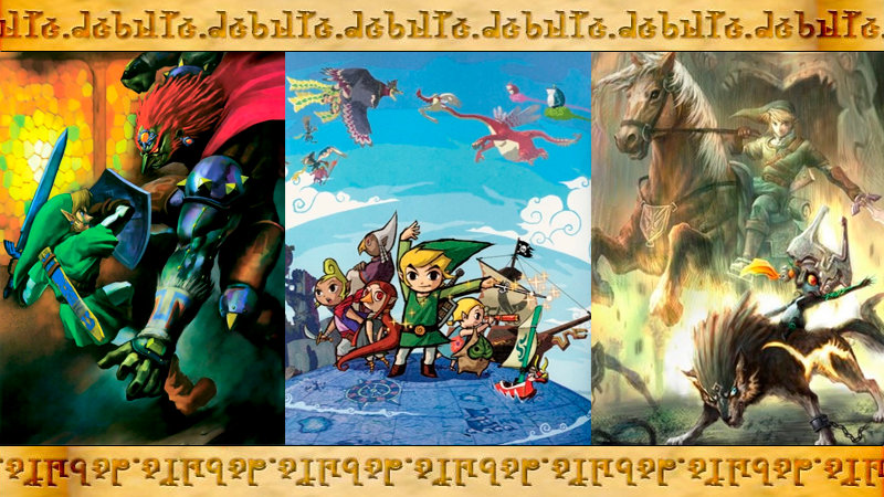 ¿Cómo te introdujiste en The Legend of Zelda?