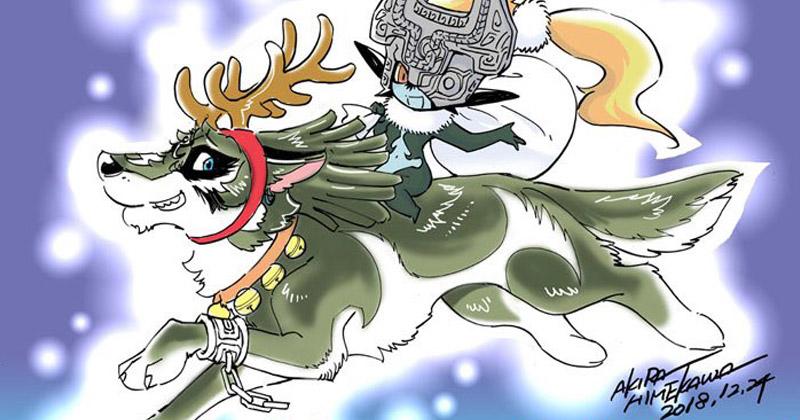 Akira Himekawa felicita la Navidad