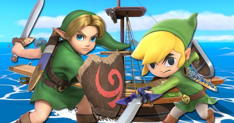 Young Link y Toon Link se actualizan en Super Smash Bros. Ultimate