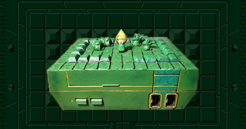 NES Mini mod: Link consigue un fragmento de la Trifuerza