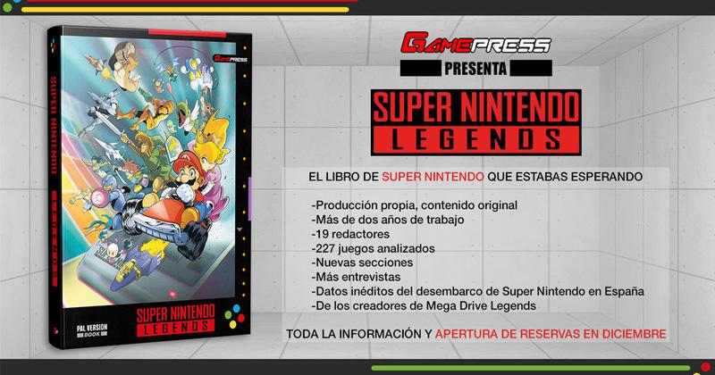Super Nintendo Legends, nuevo libro sobre la 16 bits de Nintendo