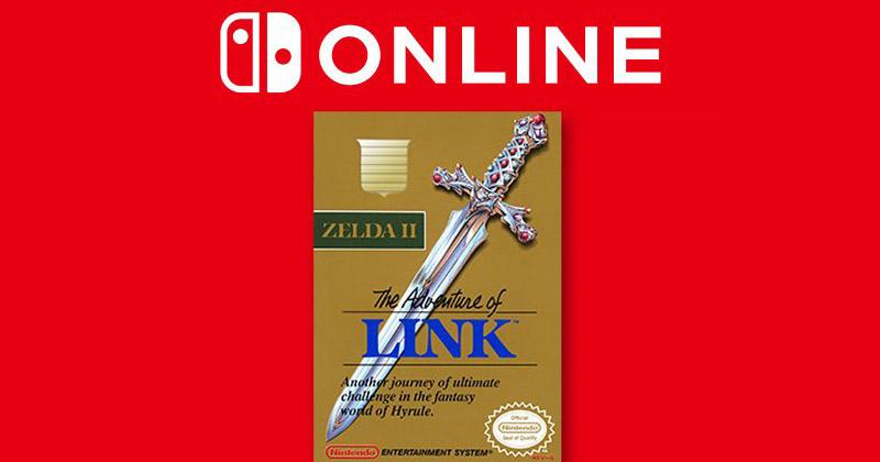 Zelda II: The Adventure of Link disponible en Switch OnLine
