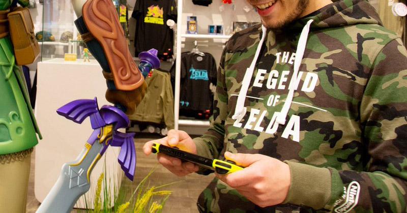 Sudadera Zelda exclusiva Nintendo NY
