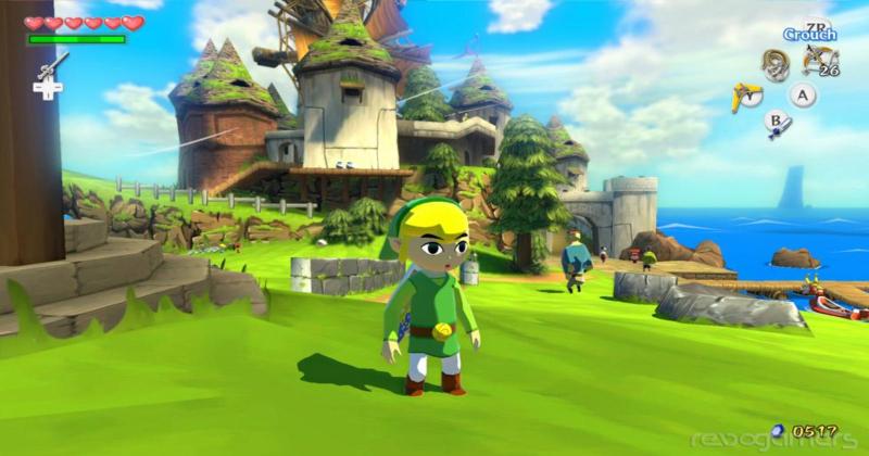 The Wind Waker utiliza la misma base para varios personajes
