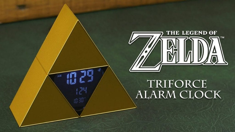 Despiértate con este reloj con alarma oficial de The Legend of Zelda