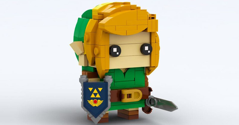 Link LEGO Fan-made