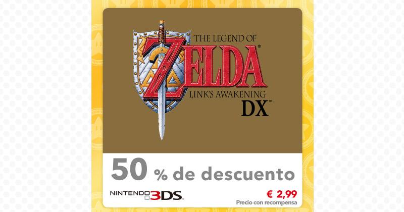 Descuentos de juegos Zelda en My Nintendo