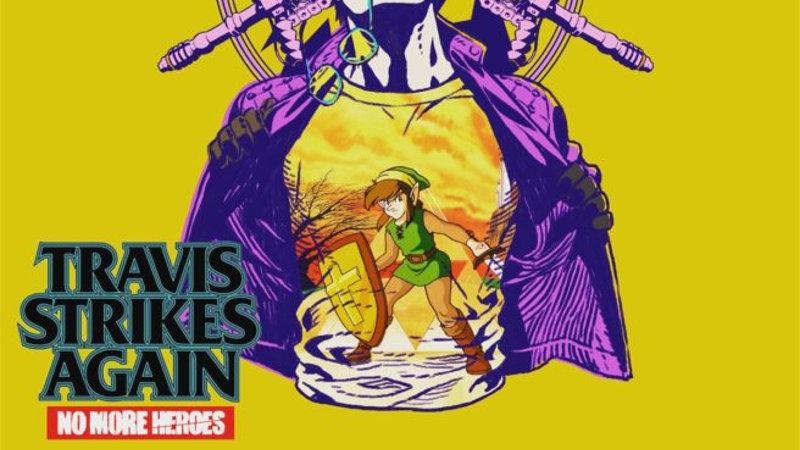 Revelada nueva camiseta de Zelda II para Travis Strikes Again: No More Heroes