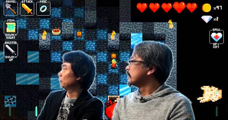 Miyamoto y Aonuma son fans de Crypt of the NecroDancer