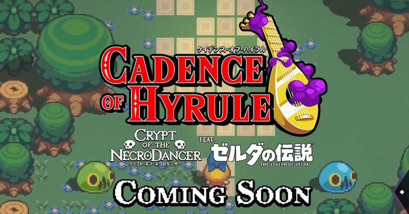 Nuevo trailer japonés de Cadence of Hyrule