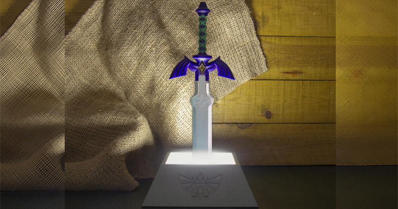 Lámpara de la Espada Maestra