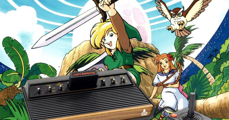 Link's Awakening ¿en Atari 2600?