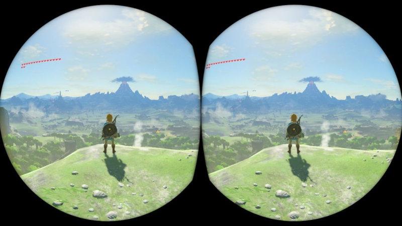 Nintendo nos muestra como funciona la VR en Breath of the Wild