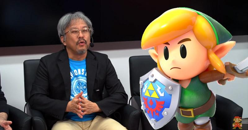 Aonuma habla sobre Link's Awakening