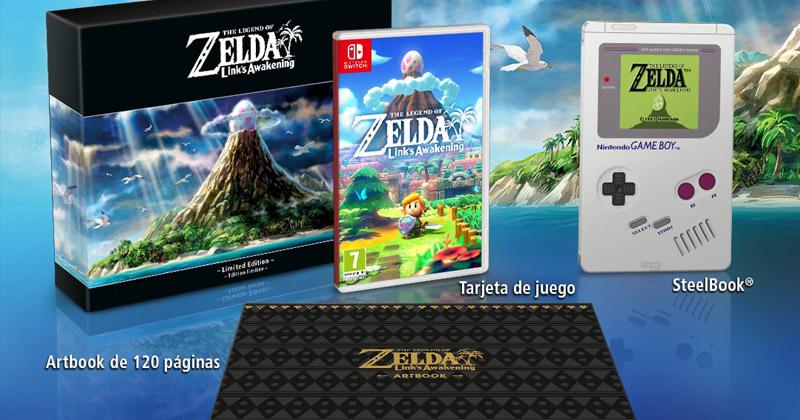 Las ediciones especiales de Link's Awakening para Nintendo Switch