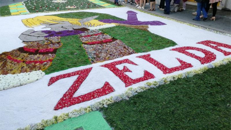 The Legend of Zelda se cuela en las fiestas patronales de Burela