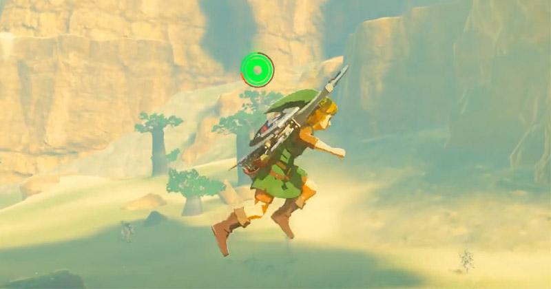 Un nuevo glitch permite saltar infinitamente en Breath of the Wild