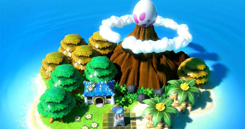 Link's Awakening en las redes sociales oficiales de Nintendo