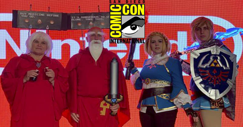 Nintendo comparte algunos cosplays de The Legend of Zelda vistos en la Comic-Con