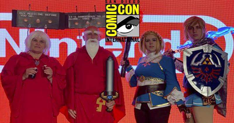 Nintendo comparte algunos cosplays de The Legend of Zelda vistos en la Comic-Con