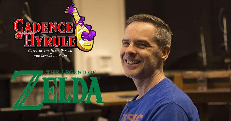 Grant Kirkhope querría hacer música para Cadence of Hyrule si tiene la ocasión