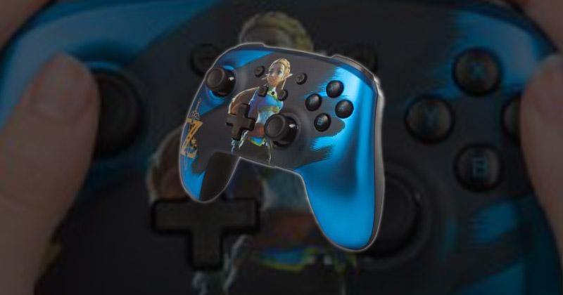 Mando PowerA de Zelda