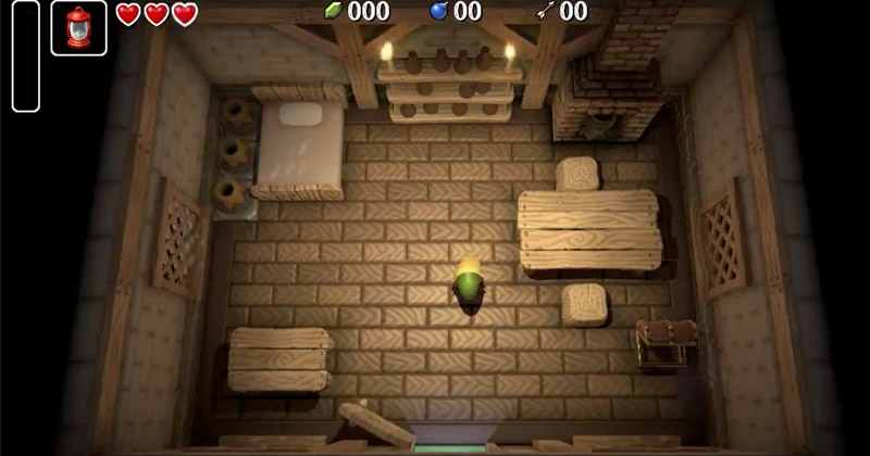 A Link to the Past recreado en Unity