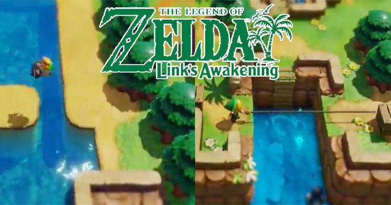 La pluma de Roc y el gancho se presentan en Link's Awakening