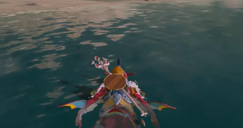 Ve a lomos de Sidon hasta donde quieras con este nuevo glitch