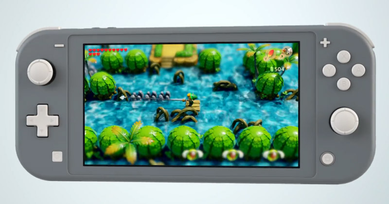 Anúncio Nintendo Switch My Way