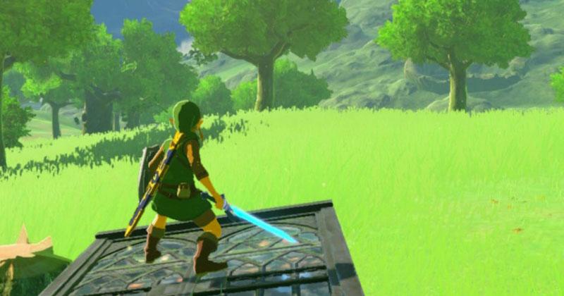 La llanura de Hyrule sirvió como inspiración para crear Mario Golf: Super Rush y el equipo de Zelda ayudó