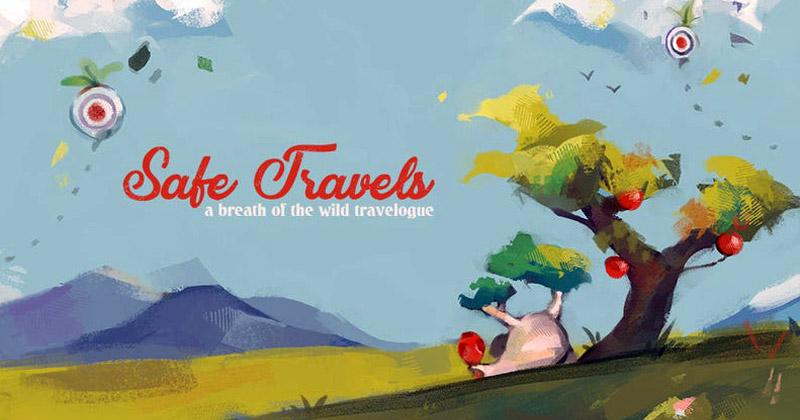 Safe Travels: Fanzine artístico de Breath of the Wild