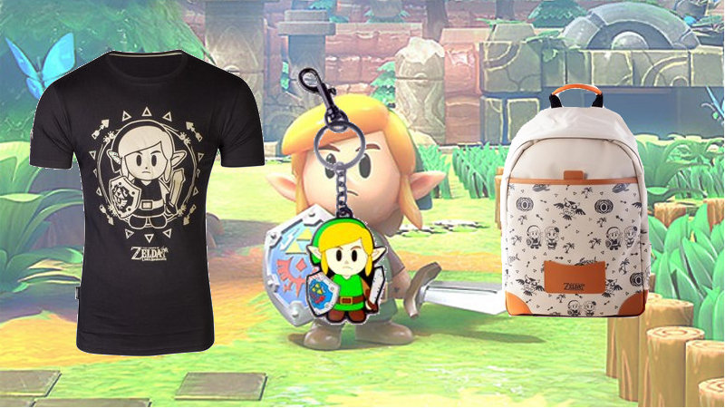 Productos de merchandising de Link's Awakening en Difuzed por Diciembre