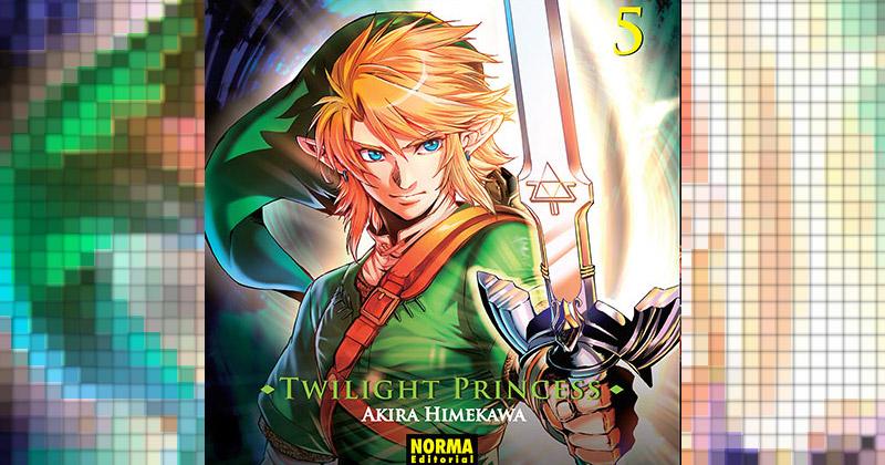 Ya a la venta el número 5 del manga de Twilight Princess