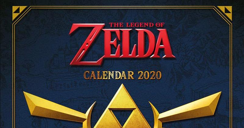 Calendario Zelda 2020