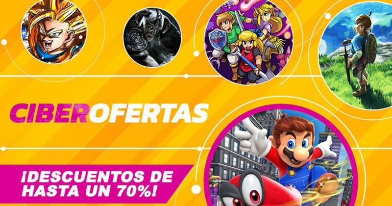 Ciberofertas 2019 de Nintendo