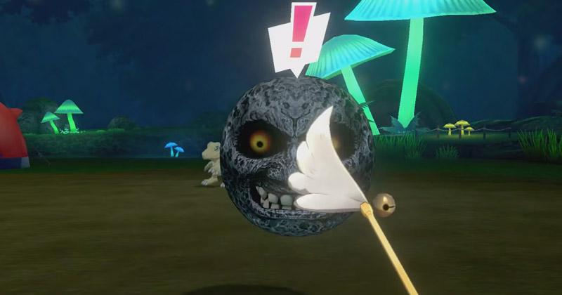 La Luna de Majora's Mask se deja caer en Pokémon Espada y Escudo