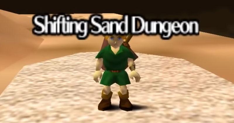 Arenas Ardientes de Super Mario 64 llega a Ocarina of Time de mano de un fan