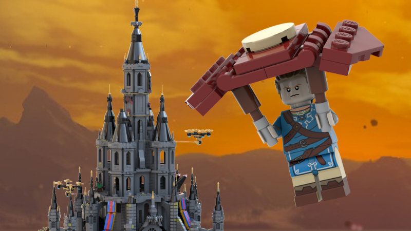 Proyecto de LEGO Breath of the Wild que necesita tu apoyo