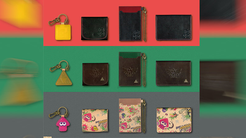Llaveros, carteras de lujo de The Legend of Zelda y otros en Japón
