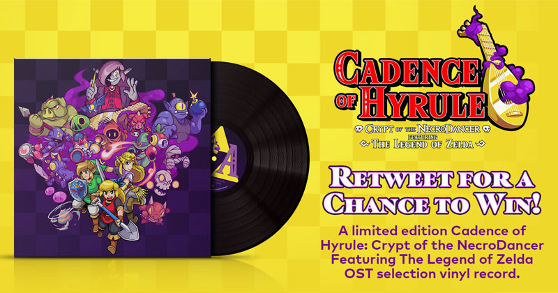 Nintendo sortea discos de vinilo de Cadence of Hyrule