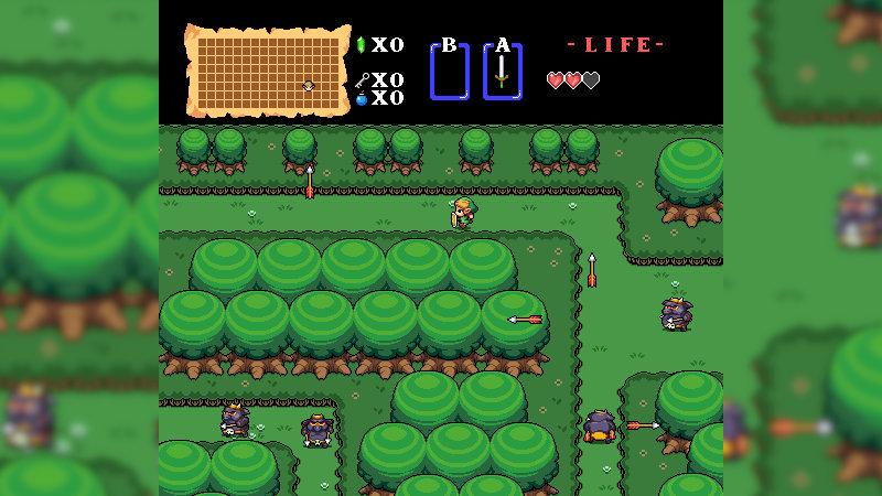 Zelda: Remastered, el fangame en HD del Zelda original