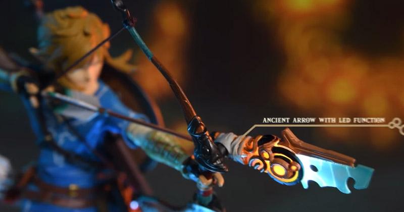 First 4 Figures revela la edición especial de la estatua de Link y Zelda