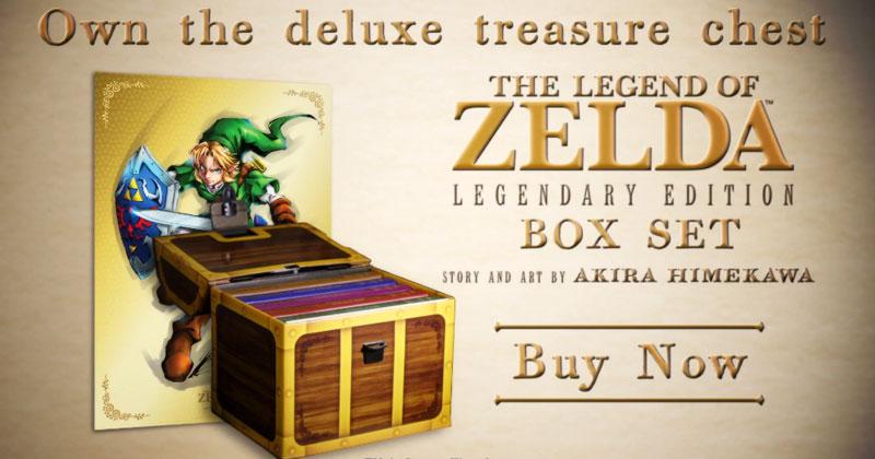Manga Zelda: Legendary Edition Box Set