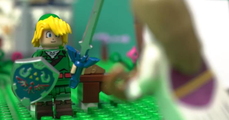 4 UP Media crea una animación de LEGO The Legend of Zelda
