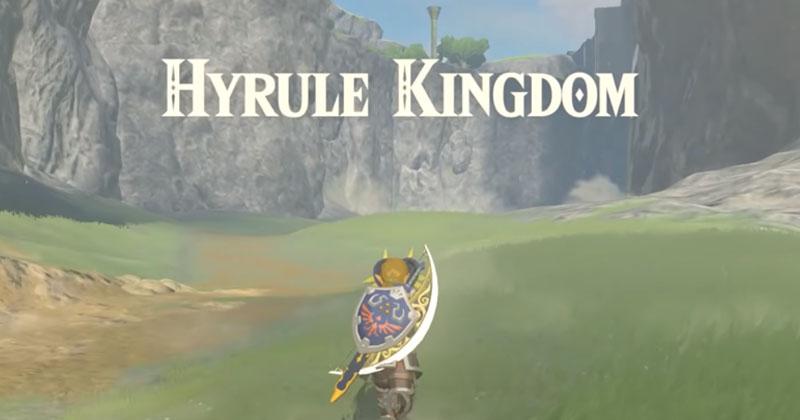 Un nuevo glitch de Breath of the Wild permite a Link quedarse con el arco de luz