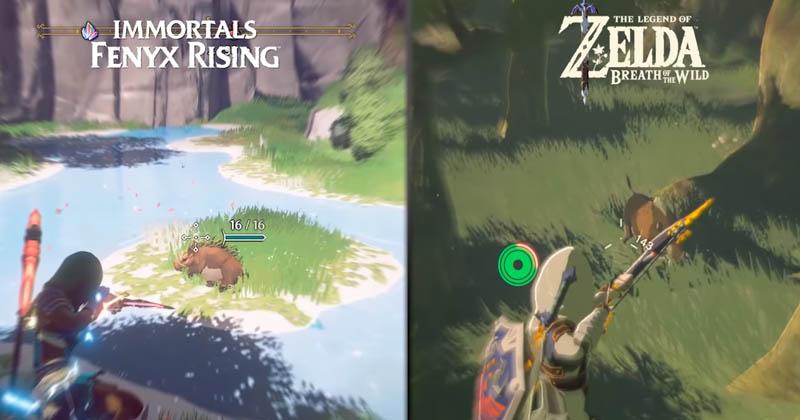 Immortals y Breath of the Wild: comparan sus similitudes